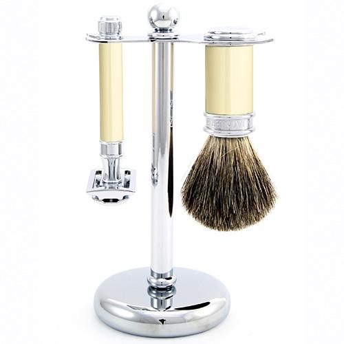 Elefántcsont szett DE - Edwin Jagger borotva - NEROLI Luxus Parfüméria 8dc83445f1
